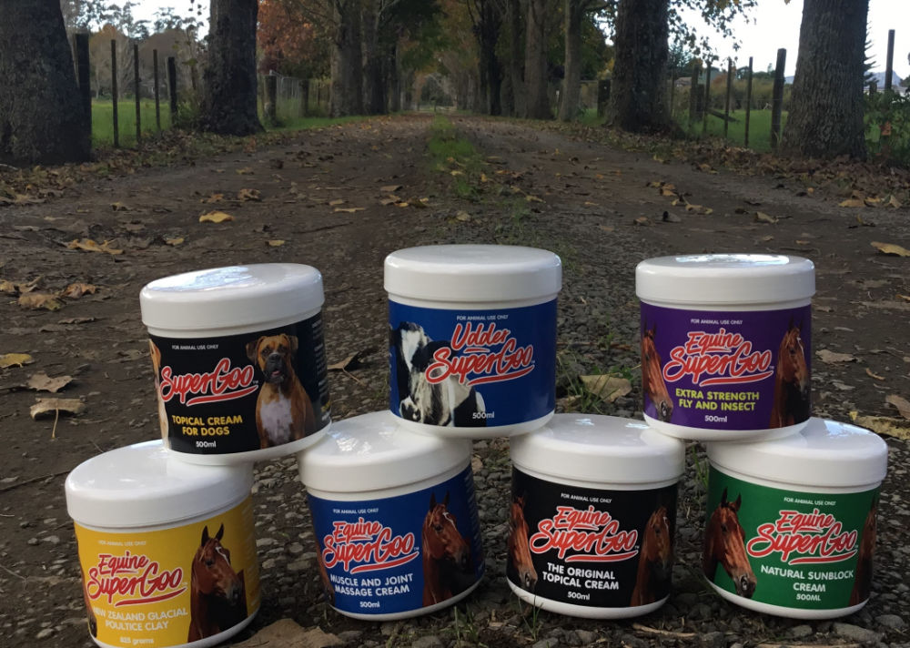 All product pots on driveway